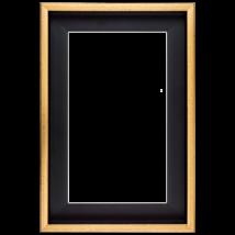 80×100 cm Arany keret
