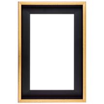 50×100 cm Arany keret