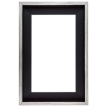 60×60 cm Ezüst keret