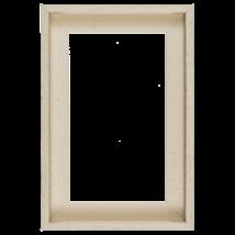 30×30 cm Fehér keret