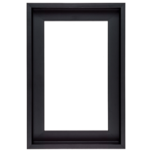 50×100 cm Fekete keret