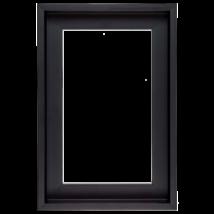 80×80 cm Fekete keret