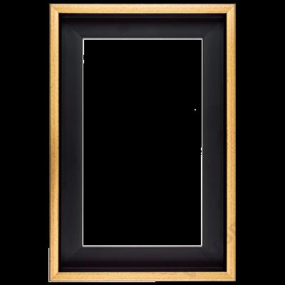 30×30 cm Arany kiállító képkeret