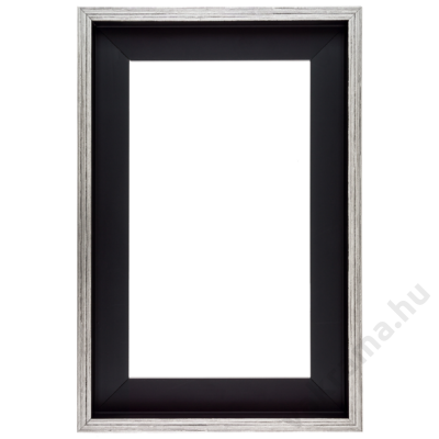 80×100 cm Ezüst kiállító képkeret