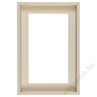 40×40 cm Fehér kiállító képkeret