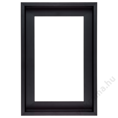 20×30 cm Fekete kiállító képkeret
